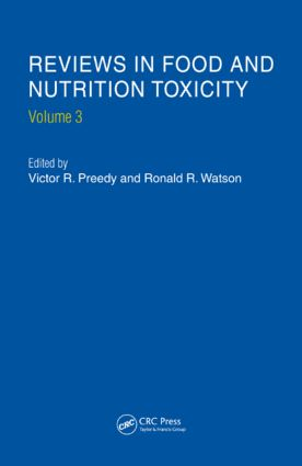 Reviews in Food and Nutrition Toxicity, Volume 3: 1st Edition (Hardback) book cover