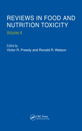 Reviews in Food and Nutrition Toxicity, Volume 4: 1st Edition (Hardback) book cover