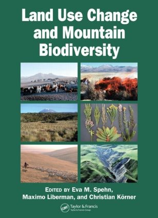 Land Use Change and Mountain Biodiversity (Hardback) book cover
