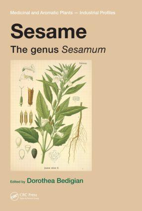 Sesame: The genus Sesamum, 1st Edition (Hardback) book cover