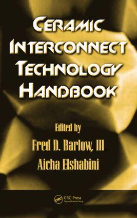 Ceramic Interconnect Technology Handbook: 1st Edition (Hardback) book cover