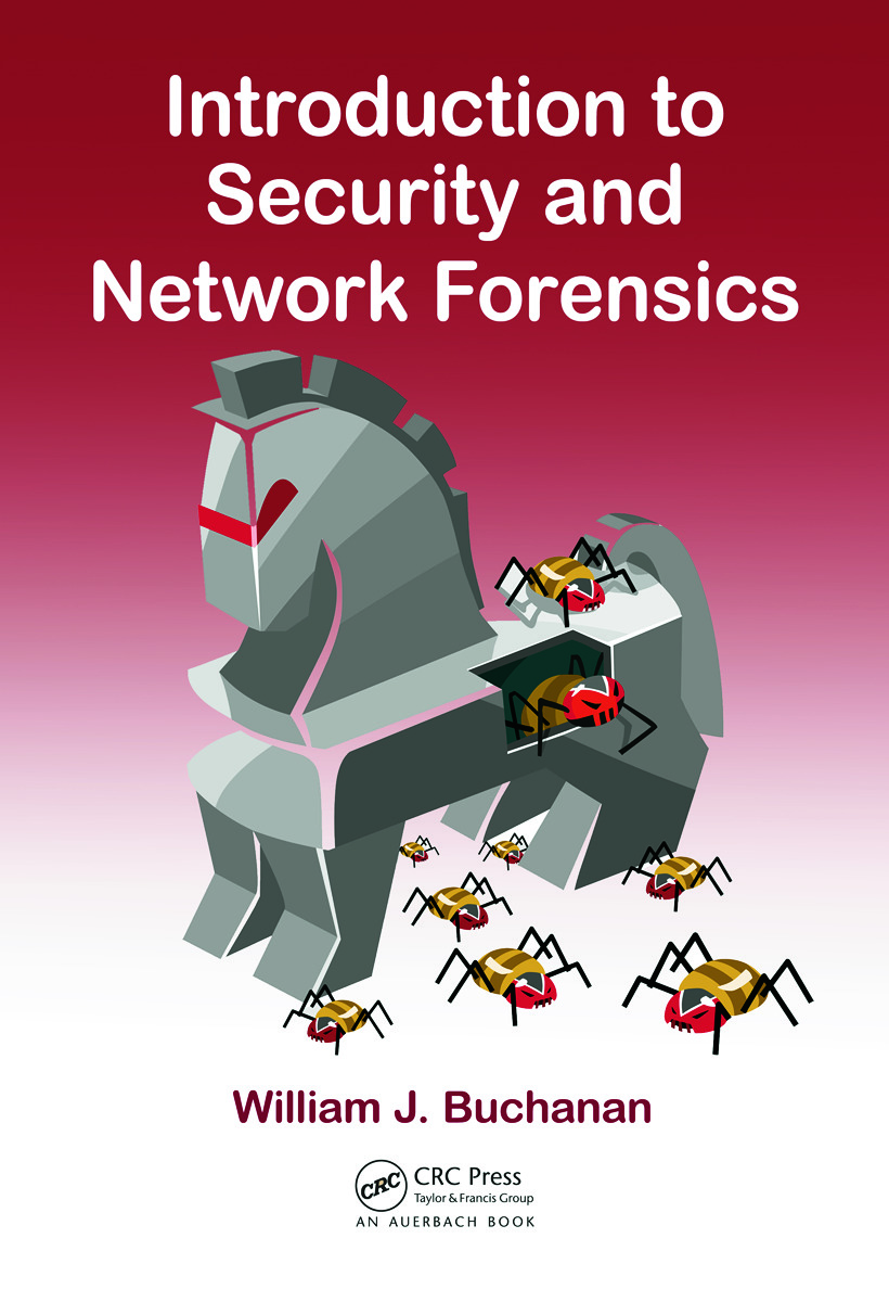 Introduction to Security and Network Forensics: 1st Edition (Hardback) book cover