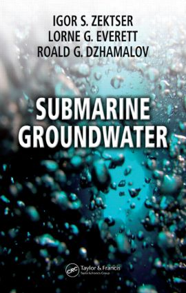 Submarine Groundwater: 1st Edition (Hardback) book cover