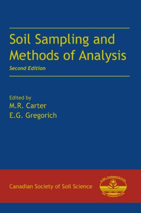 Soil Sampling and Methods of Analysis: 2nd Edition (Hardback) book cover