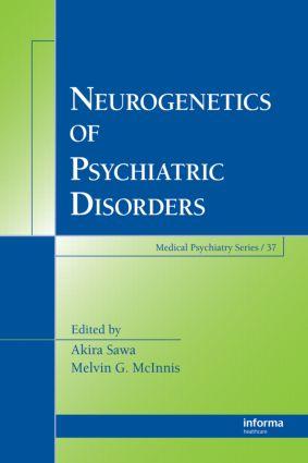 Neurogenetics of Psychiatric Disorders book cover