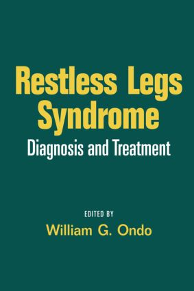 Restless Legs Syndrome: Diagnosis and Treatment, 1st Edition (Hardback) book cover
