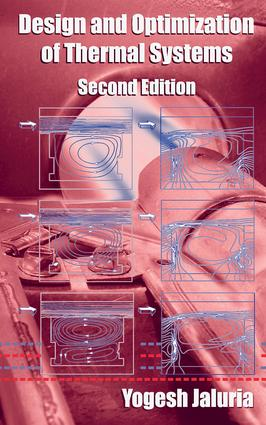 Design and Optimization of Thermal Systems, Second Edition book cover