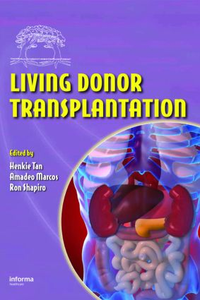Living Donor Transplantation: 1st Edition (Hardback) book cover
