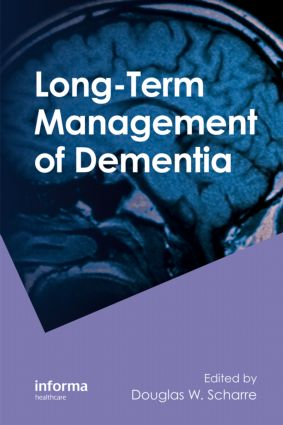 Long-Term Management of Dementia: 1st Edition (Hardback) book cover