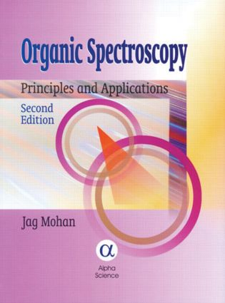 Organic Spectroscopy Principles and Applications, Second Edition book cover