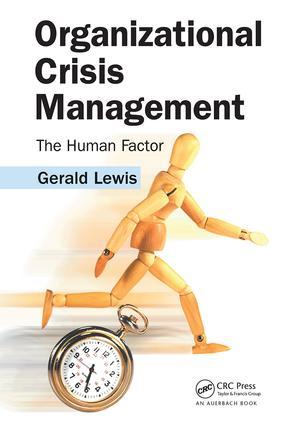 Organizational Crisis Management: The Human Factor, 1st Edition (Hardback) book cover
