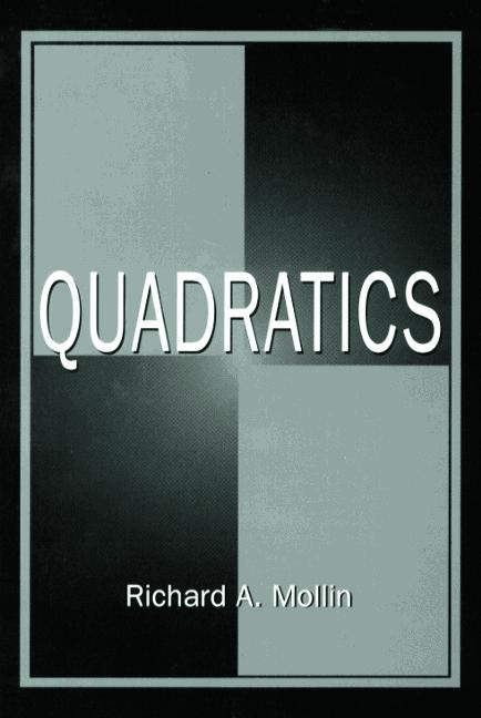 Quadratics: 1st Edition (Hardback) book cover