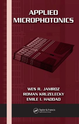Applied Microphotonics: 1st Edition (Hardback) book cover