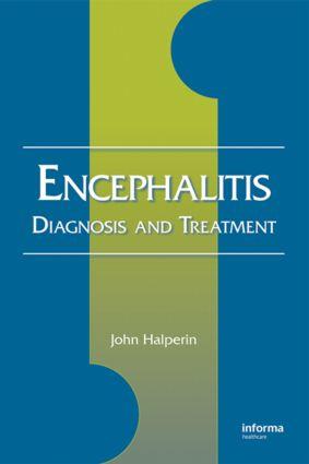 Encephalitis: Diagnosis and Treatment, 1st Edition (Hardback) book cover