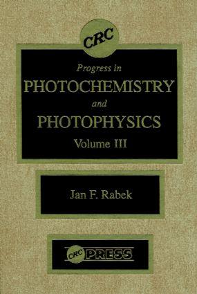 Photochemistry and Photophysics, Volume III: 1st Edition (Hardback) book cover