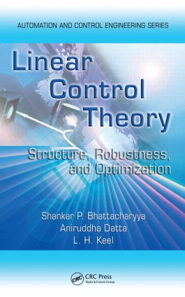 Linear Control Theory: Structure, Robustness, and Optimization book cover