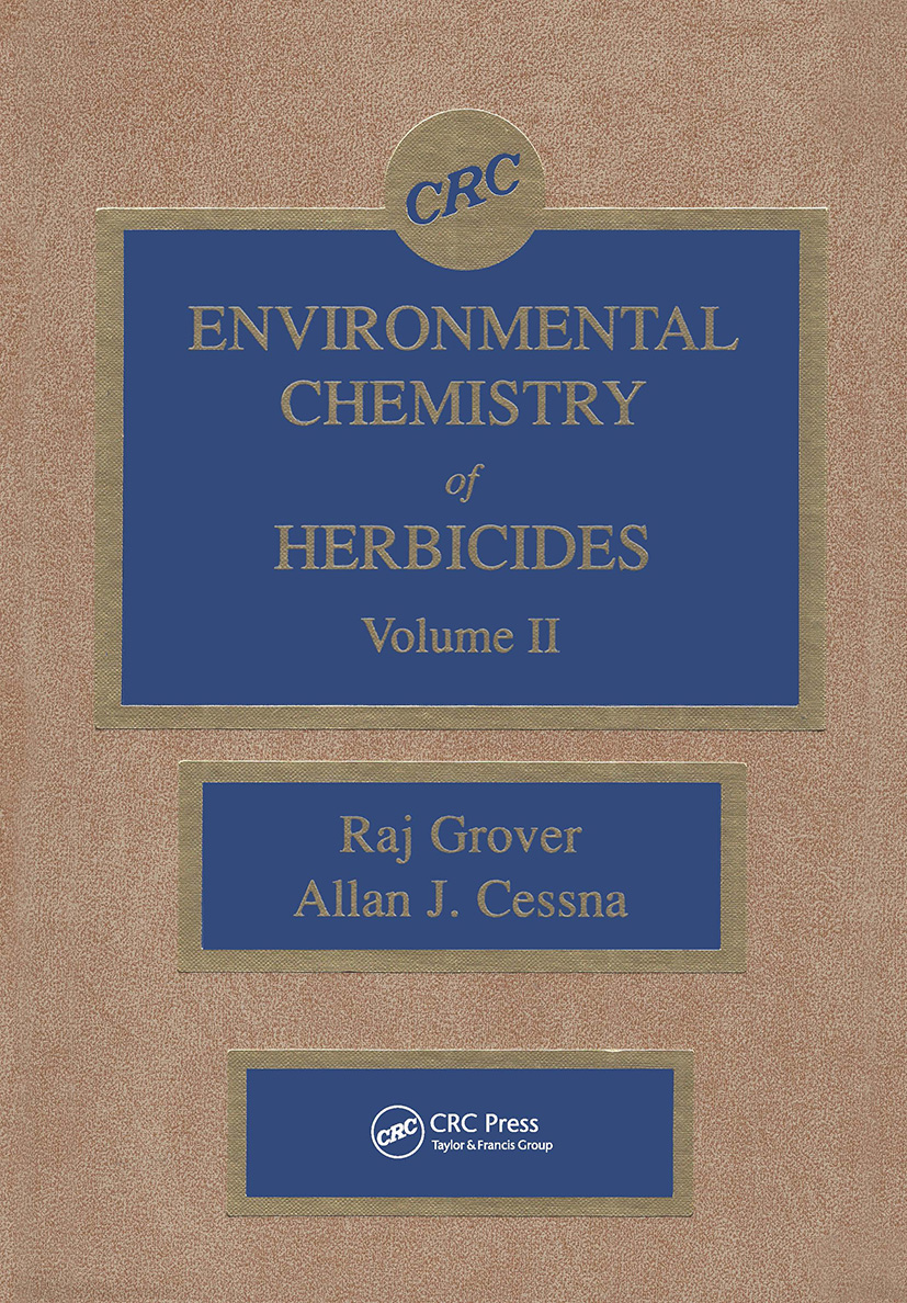 Environmental Chemistry of Herbicides: 1st Edition (Hardback) book cover
