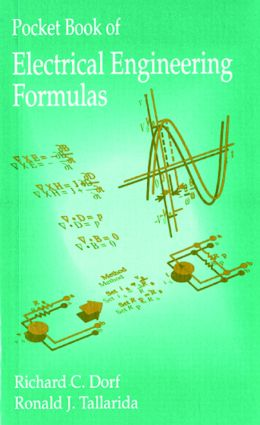 Pocket Book of Electrical Engineering Formulas: 1st Edition (Paperback) book cover