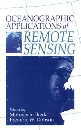 Oceanographic Applications of Remote Sensing: 1st Edition (Hardback) book cover