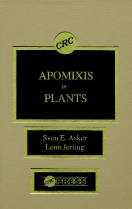 Apomixis in Plants: 1st Edition (Hardback) book cover