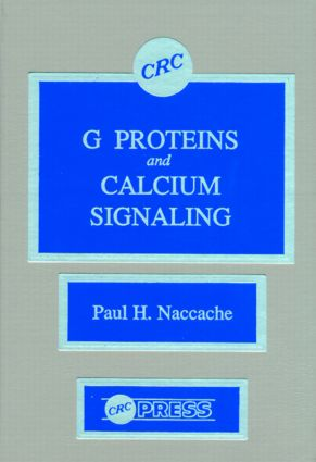 G Proteins and Calcium Signaling: 1st Edition (Hardback) book cover
