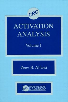 Activation Analysis, Volume I: 1st Edition (Hardback) book cover