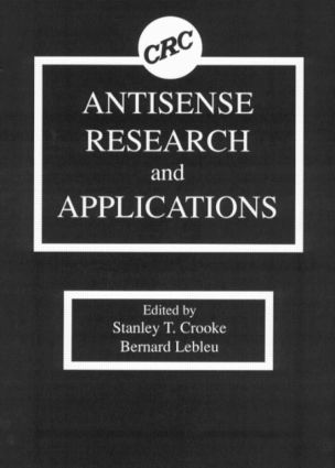 Antisense Research and Applications: 1st Edition (Hardback) book cover