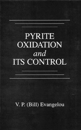 Pyrite Oxidation and Its Control: 1st Edition (Hardback) book cover