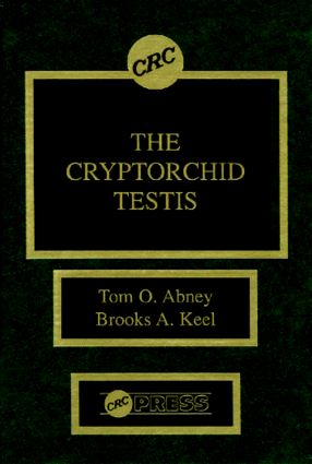 The Cryptorchid Testis: 1st Edition (Hardback) book cover
