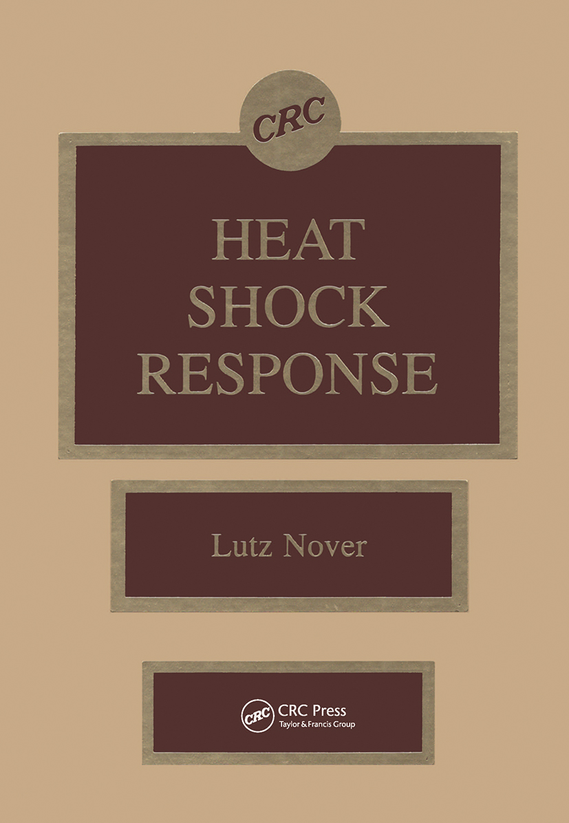 Heat Shock Response: 1st Edition (Hardback) book cover