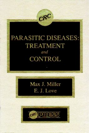 Parasitic Diseases: Treatment & Control (Hardback) book cover