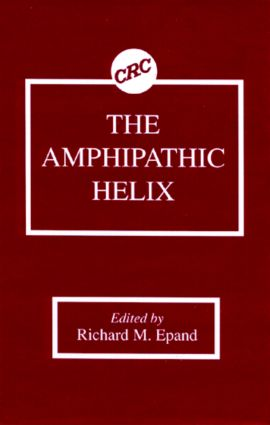 The Amphipathic Helix: 1st Edition (Hardback) book cover