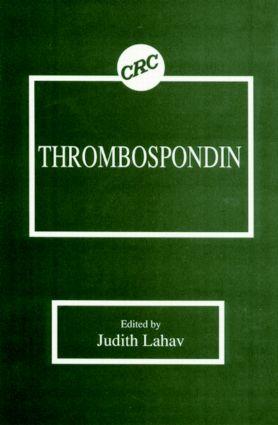 Thrombospondin: 1st Edition (Hardback) book cover