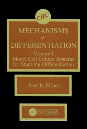 Mechanisms of Differentiation, Volume I: 1st Edition (Hardback) book cover
