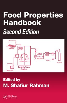 Food Properties Handbook, Second Edition: 2nd Edition (Hardback) book cover