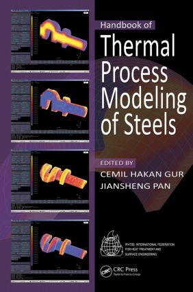 Handbook of Thermal Process Modeling Steels: 1st Edition (Hardback) book cover