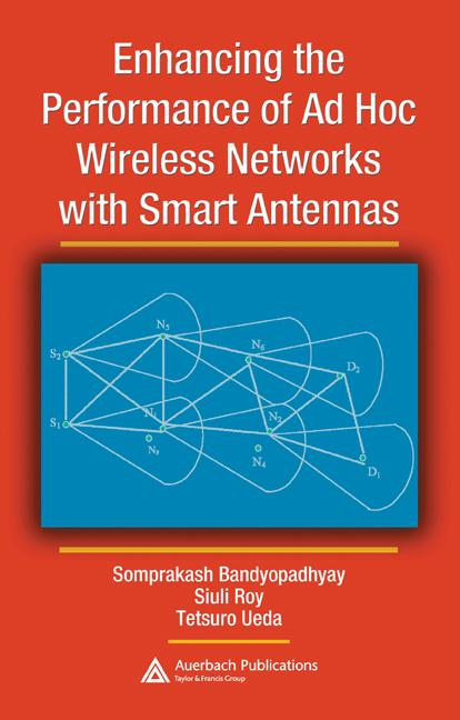 Enhancing the Performance of Ad Hoc Wireless Networks with Smart Antennas: 1st Edition (Hardback) book cover