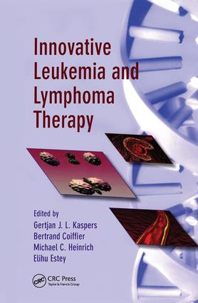 Innovative Leukemia and Lymphoma Therapy book cover