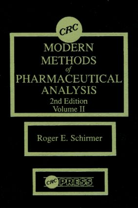 Modern Methods of Pharmaceutical Analysis, Second Edition, Volume II: 2nd Edition (Hardback) book cover