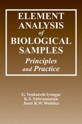 Element Analysis of Biological Samples: Principles and Practices, Volume II, 1st Edition (Hardback) book cover