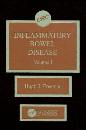 Inflammatory Bowel Disease, Volume I: 1st Edition (Hardback) book cover