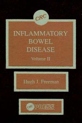 Inflammatory Bowel Disease, Volume II: 1st Edition (Hardback) book cover