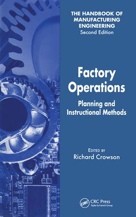 Factory Operations: Planning and Instructional Methods, 1st Edition (Hardback) book cover