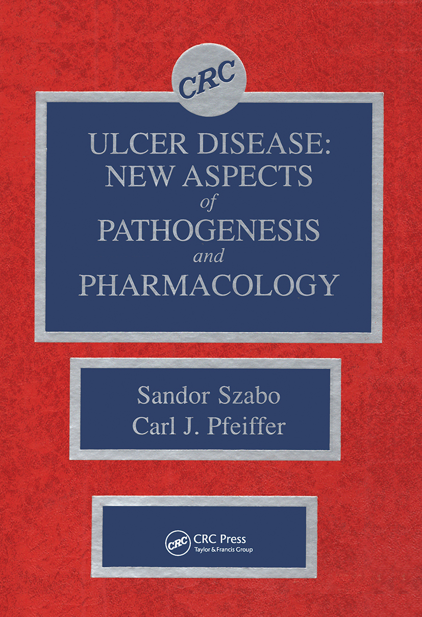 Ulcer Disease: New Aspects of Pathogenesis and Pharmacology, 1st Edition (Hardback) book cover