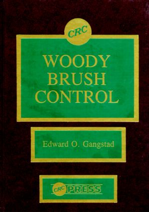 Woody Brush Control: 1st Edition (Hardback) book cover