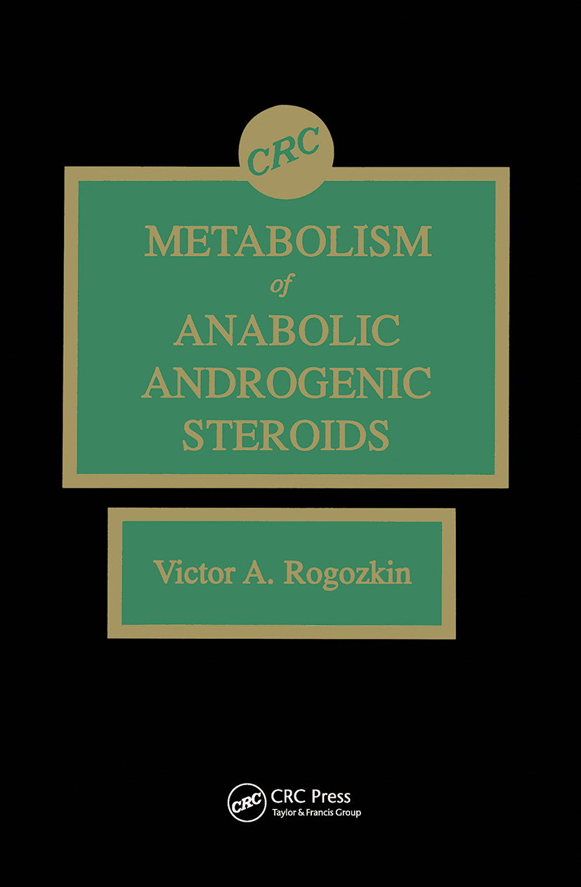 Metabolism of Anabolic-Androgenic Steroids: 1st Edition (Hardback) book cover