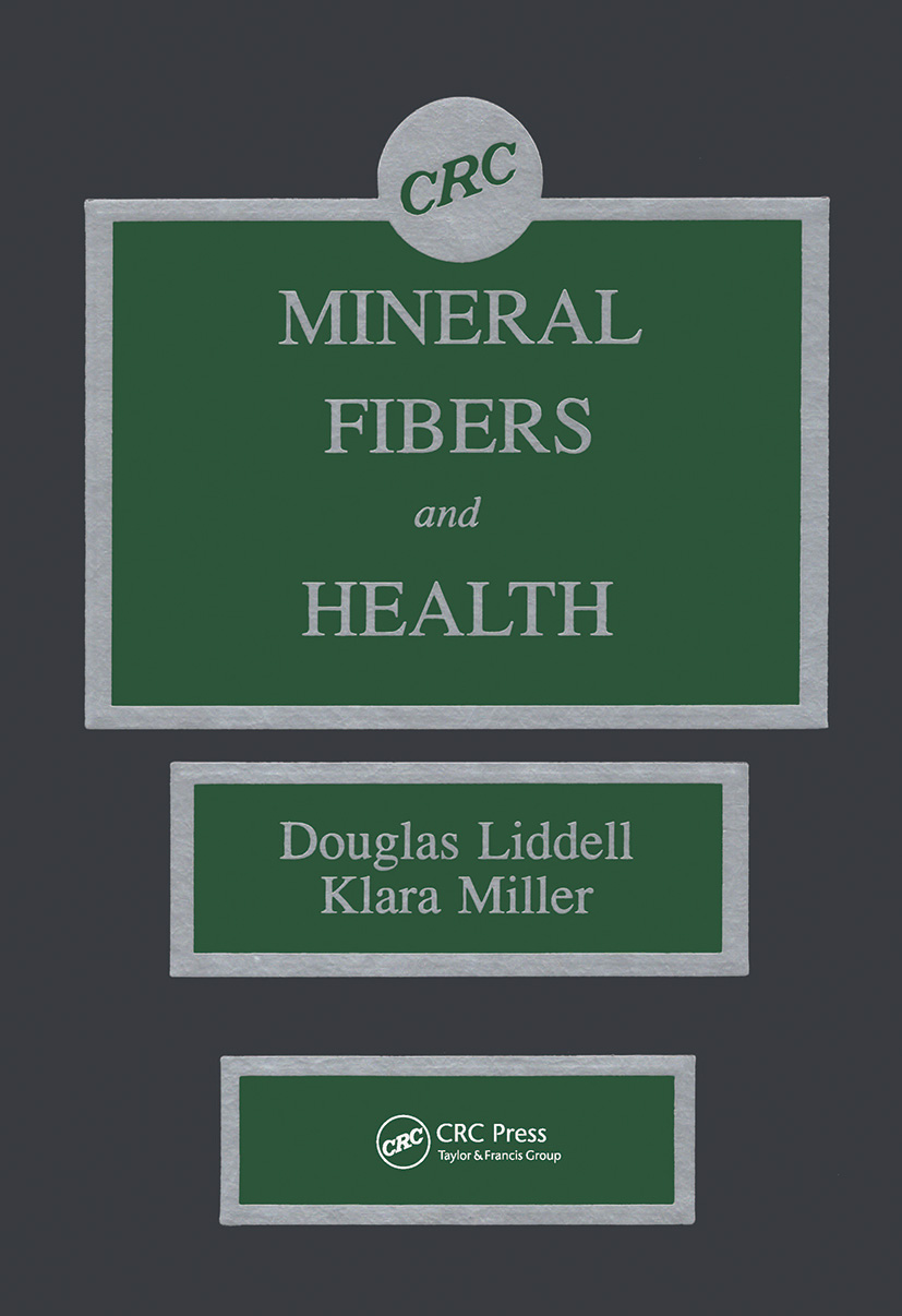Mineral Fibers and Health: 1st Edition (Hardback) book cover