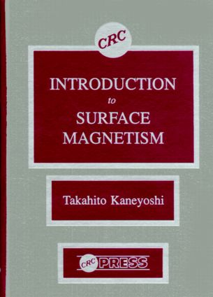 Introduction to Surface Magnetism: 1st Edition (Hardback) book cover