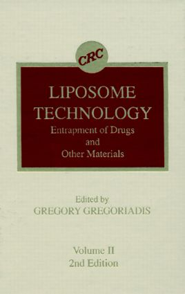 Liposome Technology, Second Edition, Volume II: 1st Edition (Hardback) book cover