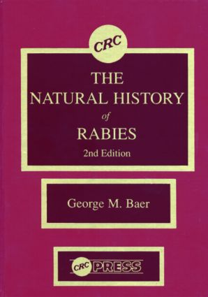 The Natural History of Rabies: 2nd Edition (e-Book) book cover